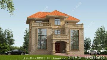 167平米三层新农村建设房