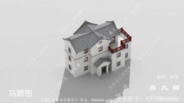 三层中式客派别墅设计效