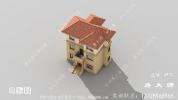 三层别墅,欧式风格别墅