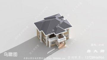 专属农村二层别墅设计图