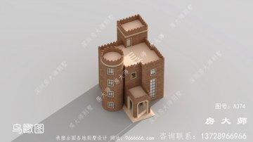 经典优雅的农村西式城堡