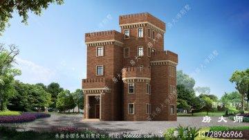 超经典的西式城堡别墅设