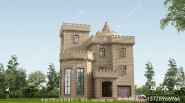 布局很实用的西式城堡别