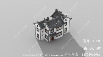 中式风格潮派别墅,二层