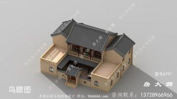 气质尊贵的新中式建筑设
