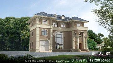 气派十足的三层法式风格别墅
