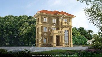 新农村单户欧洲现代三层别墅