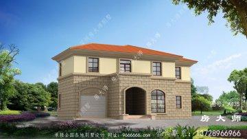 最新两层欧式风格别墅外观效果图