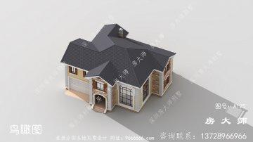 乡村经典二层自建别墅设计全套