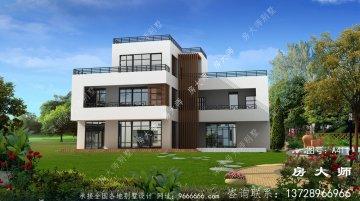 三层现代别墅设计,经典奢华