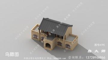 乡村中式别墅,建出来美观
