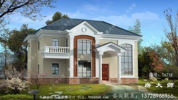 精致的欧式风格二层别墅