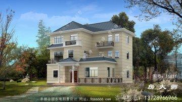 欧式风格别墅设计图纸及