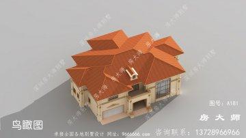 实用两层意大利风格别墅设计图