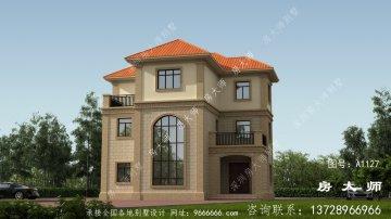 三层住宅别墅设计图低调典雅