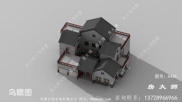 实用美观新中式别墅,深