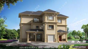 经济美观的三层法式风格别墅