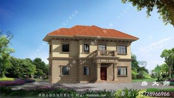 温暖美丽大气的欧式风格别墅户型
