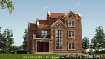 颜值高布局赞的英式风格别墅建筑