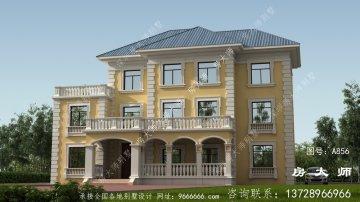美观又大气的法式风格独栋别墅效