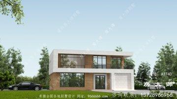 建房人的福音,现代风格两层别墅