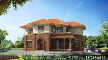 布局方正,值得建的好别墅房型