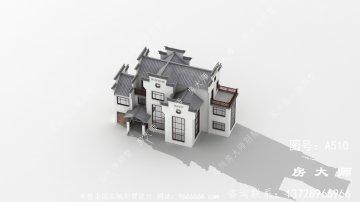 非常漂亮的徽派建筑别墅