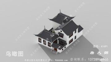 农村二层建筑设计图新颖