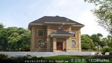 漂亮实用的法式风格别墅