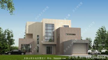 乡村现代三层别墅的设计