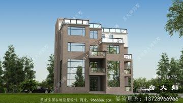 五层住宅别墅设计图低调典雅,造