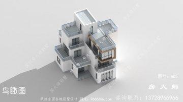 三层房子别墅设计图,占地149平方
