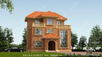 三层欧式风格别墅设计图纸