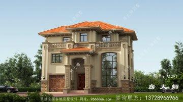 三层意大利风格别墅设计