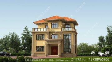 经典复式欧式风格别墅设计图