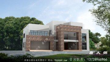 三楼别墅设计图,设计简单,气宇