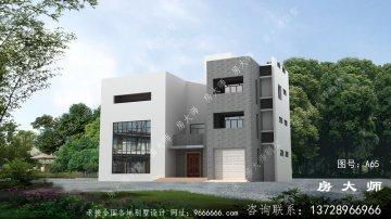 现代四层房型,外型空气