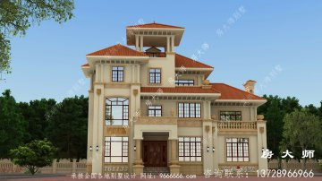 意大利风格别墅建筑设计