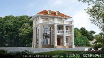 欧式风格新式别墅外观效