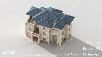 别具一格的法式风格别墅设计效果