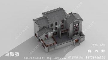 中式风格独栋别墅效果图大全