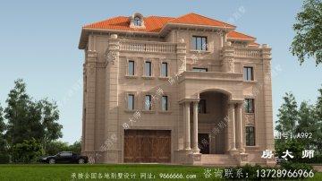 四层意大利风格别墅设计
