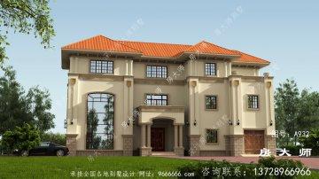 3层豪宅,外观有大气、高级感