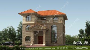 三层别墅的设计图设计精美,布局