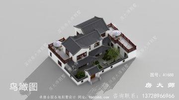 农村苏式园林别墅,理想的房子