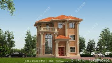 古典复式三层欧式别墅设