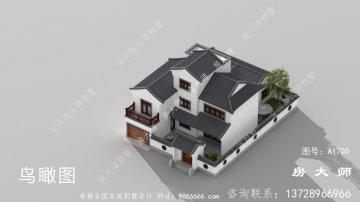 富贵大气的苏式园林别墅设计图