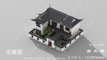 新中式两层苏式别墅设计