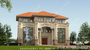 三层别墅的设计图,有适