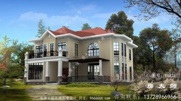 最新款农村欧式风格别墅